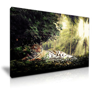 Tiger Canvas Painting Animal Wall Art Decoration Painting
