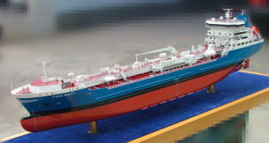 Miniature Ship and Boat Model, Plastic Oil Tanker Model (JW-140) pictures & photos