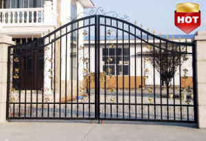 Decoration Wrought Iron Gate pictures & photos