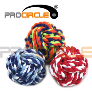 Pet Nuts Multipet Knots Cotton Rope Strengthen Teeth Ball Toy (PC-KB1001)