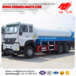 20 Tons Payload Water Tank Truck with 200HP Yuchai Engine pictures & photos