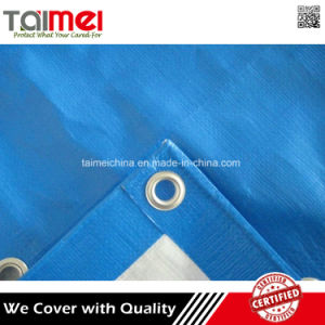 Cheap Waterproof Plastic Tarpaulin Sheet with Grommets pictures & photos