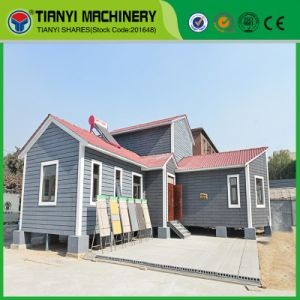 Tianyi Overall Baffle EPS Cement Machine Sandwich Panel Modular Building pictures & photos