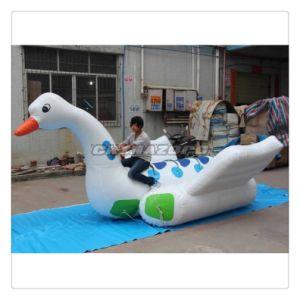 Creative Designed Swan Replica Inflatable Banana Ship Good Price pictures & photos