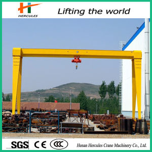 Box Type Workshop Used Single Beam Gantry Cranes pictures & photos