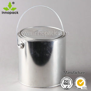 2.5L Round Empty Metal Paint Can pictures & photos