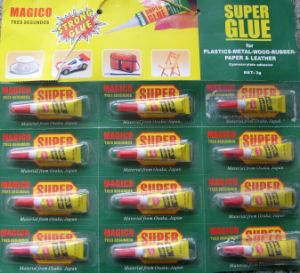 3G Super Strong Glue 502 Adhesive pictures & photos