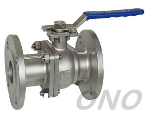 Wcb Stainless Steel Industrial Ball Valve with Flange pictures & photos