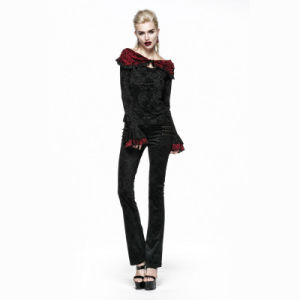 Punk Unique Design Vintage Decadent Gothic Pants (K-201) pictures & photos
