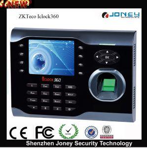Fingerprint Time Clock Punch Card Attendance Machine Fingerprint Iclock360 Time Attendance pictures & photos