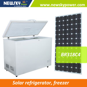 China Manufacturer Solar Power Refrigertator Chest Freezer pictures & photos