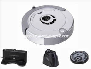 Robot Vacuum Cleaner with Remote Control and Space Isolator