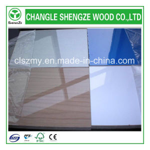High Glossy Furniture Grade 18mm UV MDF pictures & photos