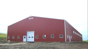 Prefab Light Steel Structure Hay Hoarding Warehouse Building (KXD-114) pictures & photos