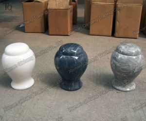 Natural Stone Hand Made Carving and Polishing Marble Urn