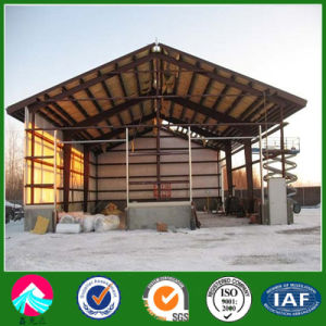 Large Span and Sandwich Panel Roof and Wall Prefab Steel Structure Warehouse pictures & photos