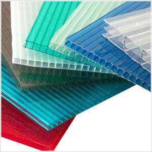 China Manufacturer Polycarbonate PC Hollow Sheet with SGS pictures & photos