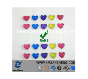 Heart Shape Resin Sticker (SZXY189) pictures & photos