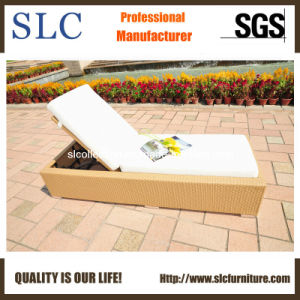 Rattan Sun Lounger Set, Rattan Chaise Lounger (SC-FT012) pictures & photos
