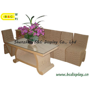 Whole Cardboard Furniture (B&C-F001) pictures & photos