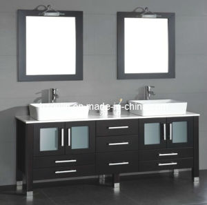Double Sink Bathroom Vanity (BA-1130) pictures & photos