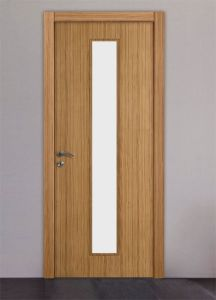 Office Wood Door with Glass pictures & photos