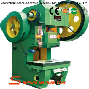J21 Series 125t Mechanical Power Press with Fixed Bed