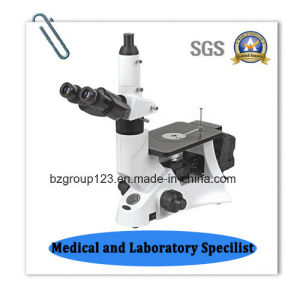 Trinocular Inverted Laboratory Metallurgical Microscope pictures & photos