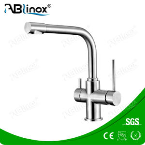 Stainless Steel 3 Way Kitchen Faucet9ab113) pictures & photos