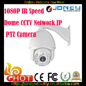 1080P IR Speed Dome CCTV Network IP PTZ Camera pictures & photos