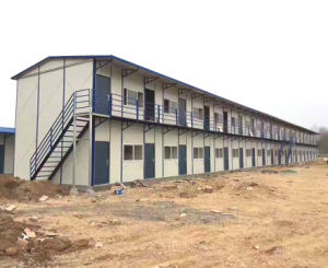 ISO Standard Steel Prefabricated House Building pictures & photos