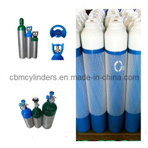 ISO9809 Standard 10 Liter Medical Oxygen Cylinders W/ Pin Index Valves Cga870 pictures & photos