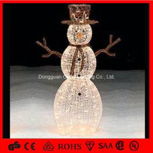 3D LED Snowman Motif Christmas Decoration Light pictures & photos