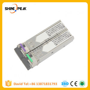 Optical Converter 10g SFP Bidi Module 80km Fiber Transceiver pictures & photos