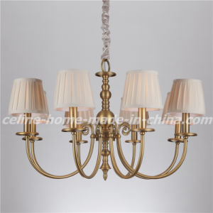 Iron Pendant Light Chandelier with Fabric Shade (SL2112-8) pictures & photos