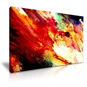 Abstract Art Canvas Painting For Office Decor