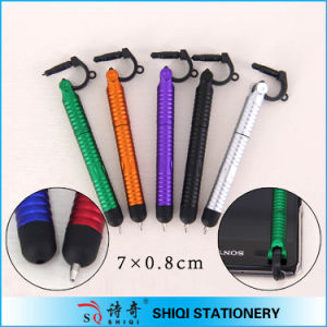 Multi Function Mini Stylus Pen with Pluggy