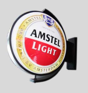 Rotating Light Box Signage