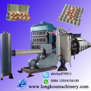 Paper Pulp Molding Egg Tray Making Production Line with 4000PCS/H