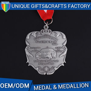 Special Design Car Medal for Activity and Gifts Sliver Medal pictures & photos