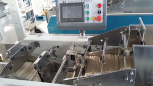 Automatic Noodle Weighing Filling Film Packing Mcahine with 1 Weigher pictures & photos