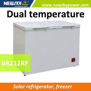 238L Solar Powered Deep Freezer 12V Solar Freezer with Ce pictures & photos