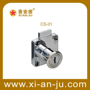 Modern Zinc Alloy Cam Lock in Cabinet, Drawer (CS-01)