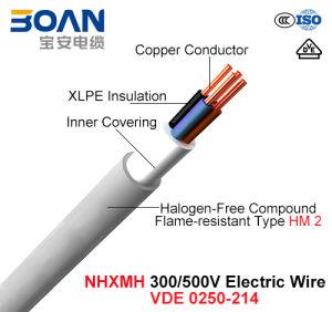 Nhxmh, Electric Wire, 300/500 V, Cu/XLPE/Lszh (LSOH) Cable (VDE 0250-214) pictures & photos