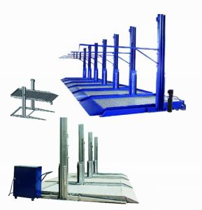 2.7t Double Post Parking System with Ce
