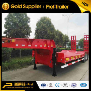 3 Axles 55 Tons Low Loader Low Deck Semitrailer