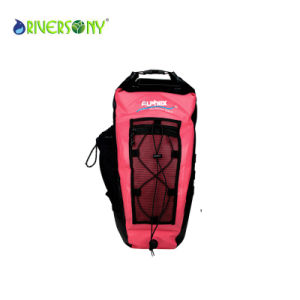 Red Polyester Waterproof Bag Backpack pictures & photos