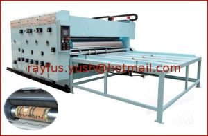 Semi-Auto Flexo Printing Die-Cutter with Removable Slotting pictures & photos