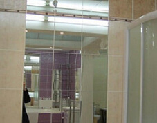 Unframed Bathroom Silver Mirror Glass From Float Silver Mirror Glass pictures & photos