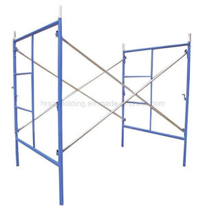 Door Frame Scaffold, H Frame Galvanized Scaffold, Ladder Frame Scaffold pictures & photos
